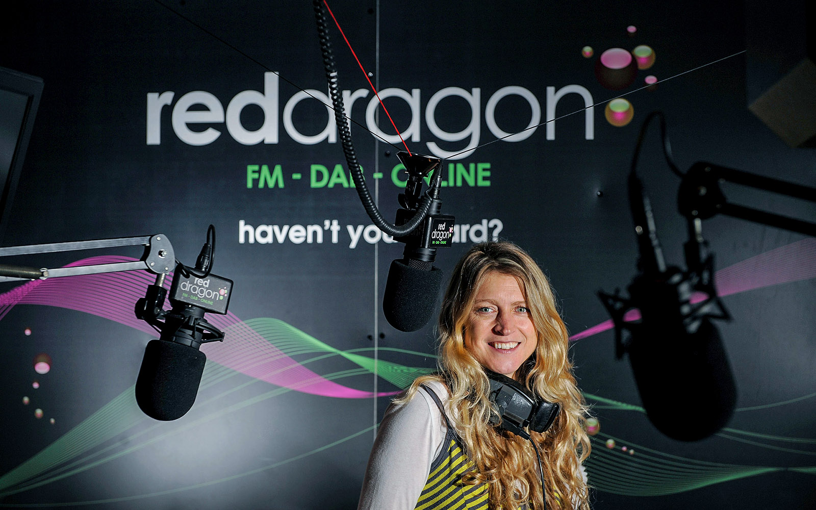 New Red Dragon radio Breakfast DJ Sally Bailey for the Western Mail