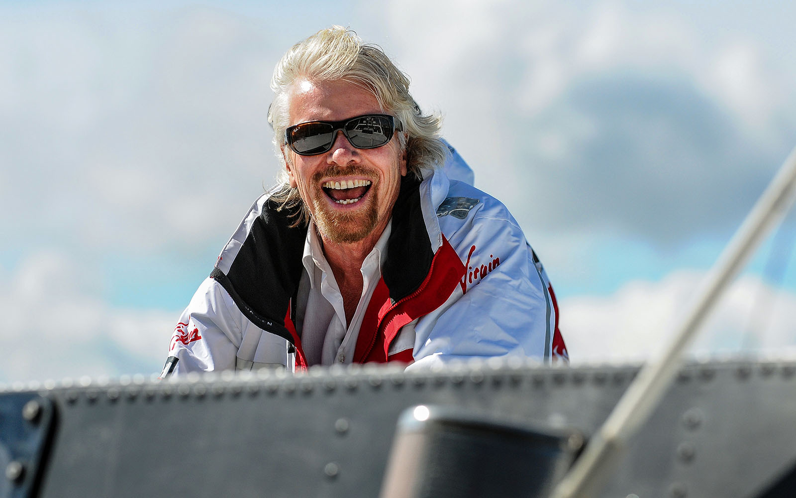 Richard Branson for Virgin Travel
